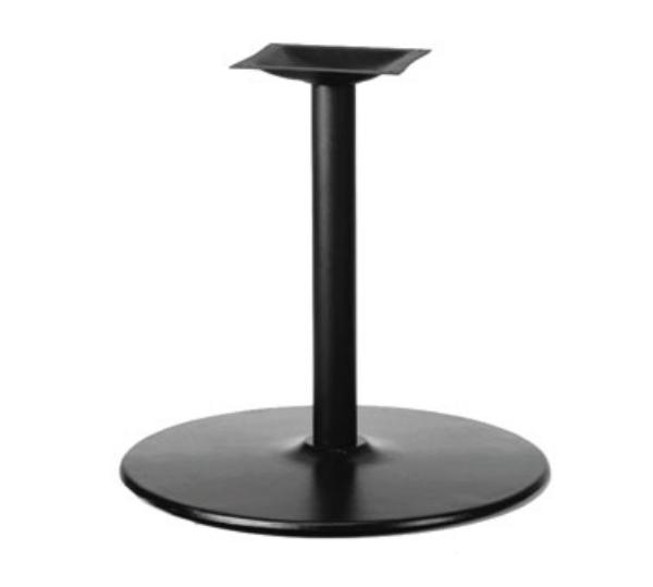 Waymar 3017304 Table Base, 4 in Column, 17 in Diameter Base Spread, 30 in Dining Height