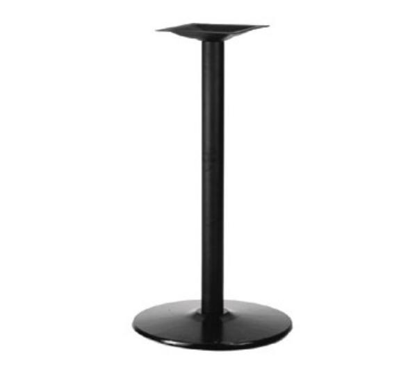 Waymar 1922424 Table Base, 4 in Column, 22 in Diameter Base Spread, 42 in Bar Height