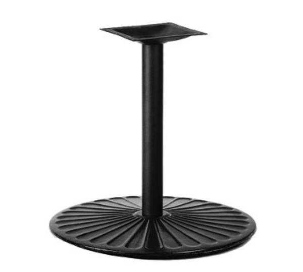 Waymar 7017303 Table Base, 3 in Column, 17 in Diameter Base Spread, 30 in Dining Height