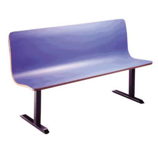 Waymar Industries CM2458 CountourMold Continuous Seating Seat 24 in L Restaurant Supply