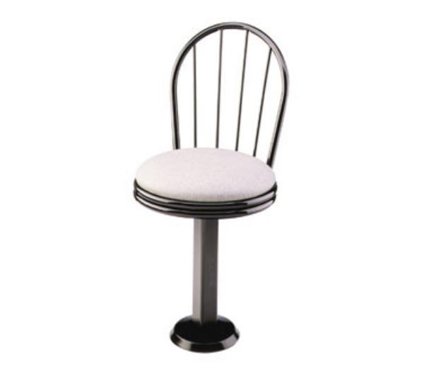 Waymar CS250 Parlor Chair Seat, Metal Spoke Back, Meta