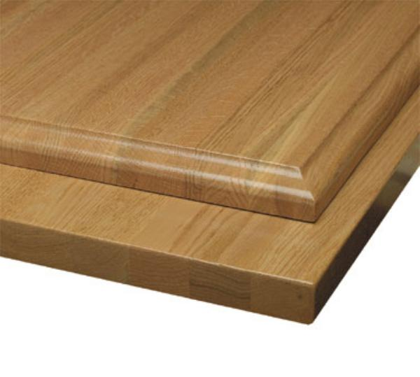 Waymar SO01BB3096 Tabletop, 30 in x 96 in 1-1/2 in Thick, Solid Oak Butcherblock