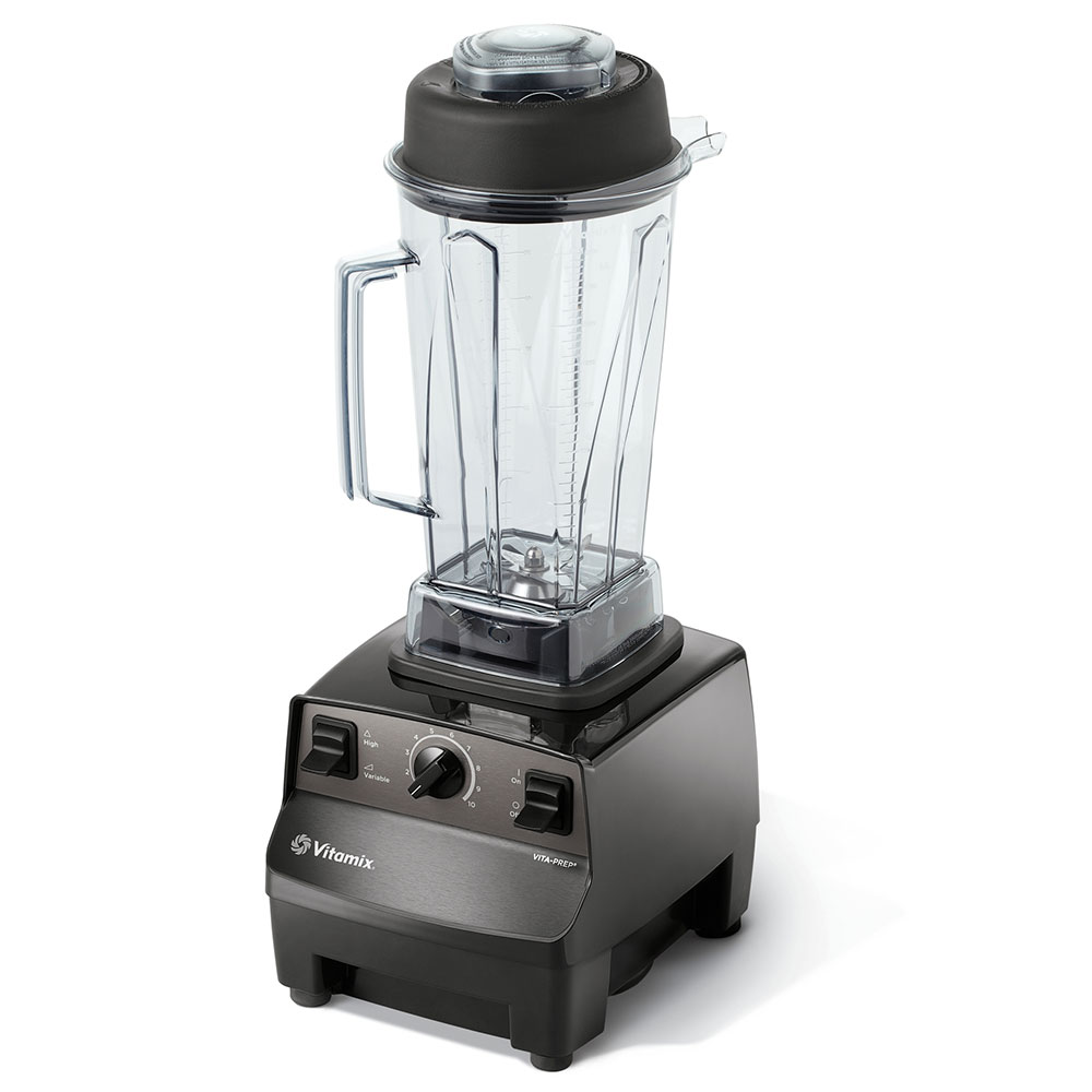Vitamix 1003-BLENDER Food Blender w/ 48-oz Clear Container, Variable Speed & Black Base