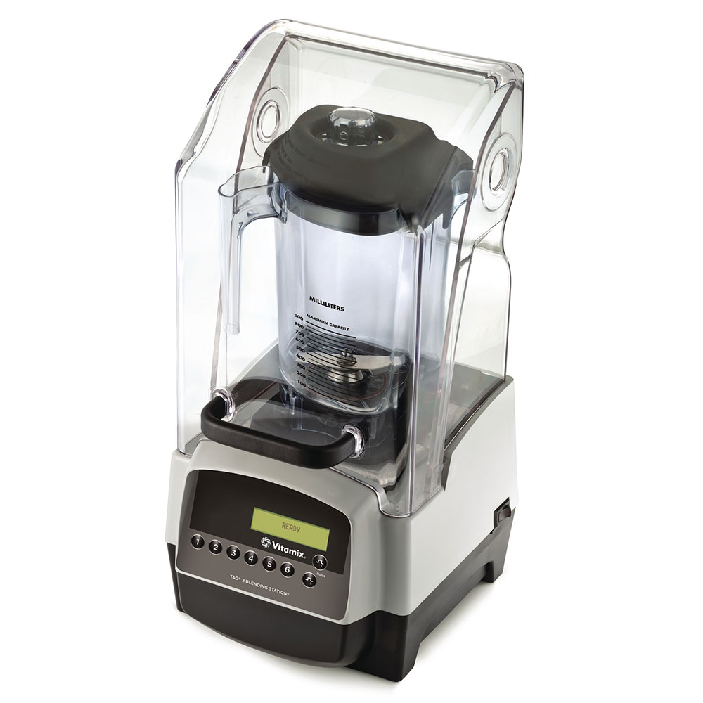 Vitamix 34013 countertop drink blender w polycarbonate for What brand of blender is used on the chew