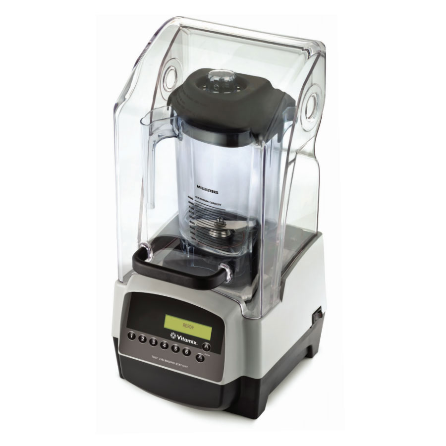 Vitamix 38002 In-Counter Drink Blender w/ Polycarbonate Container, Sound Enclosure
