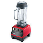 Vitamix 5028 Drink Blender w/ 64-oz Clear Container, Pulse & Auto Off, Red Base