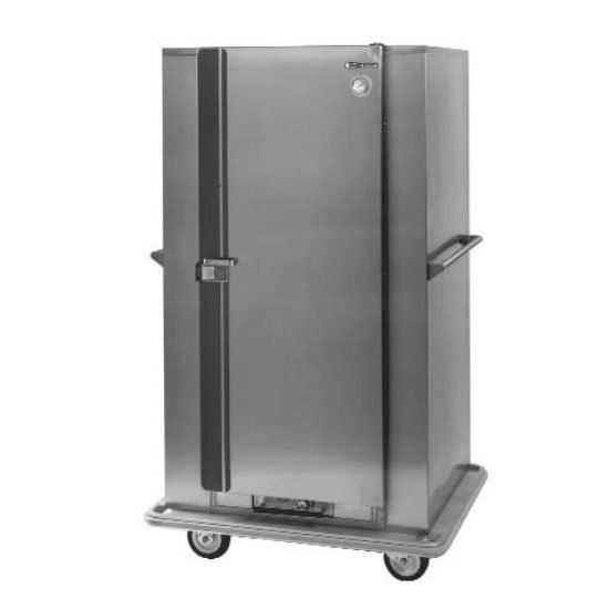 Carter-hoffmann BB100 Heated Banquet Cabinet, 120-Plate Capacity, Stainless