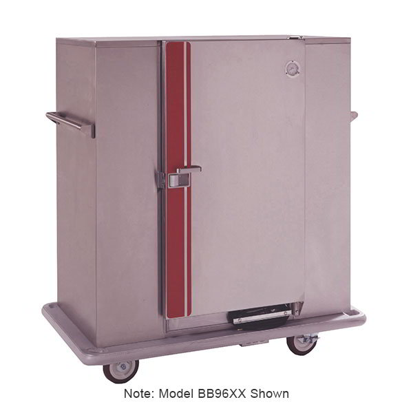 Carter-Hoffmann BB150XX Heated Banquet Cabinet, (180) 12.75-in Plate Capacity, Stainless