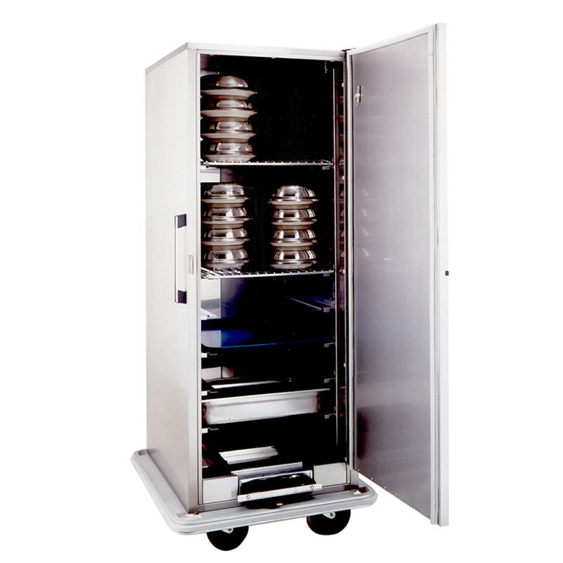 Carter-Hoffmann BB1864 Heated Space-Saver Banquet Cabinet, 64-Plate Capacity, Stainless