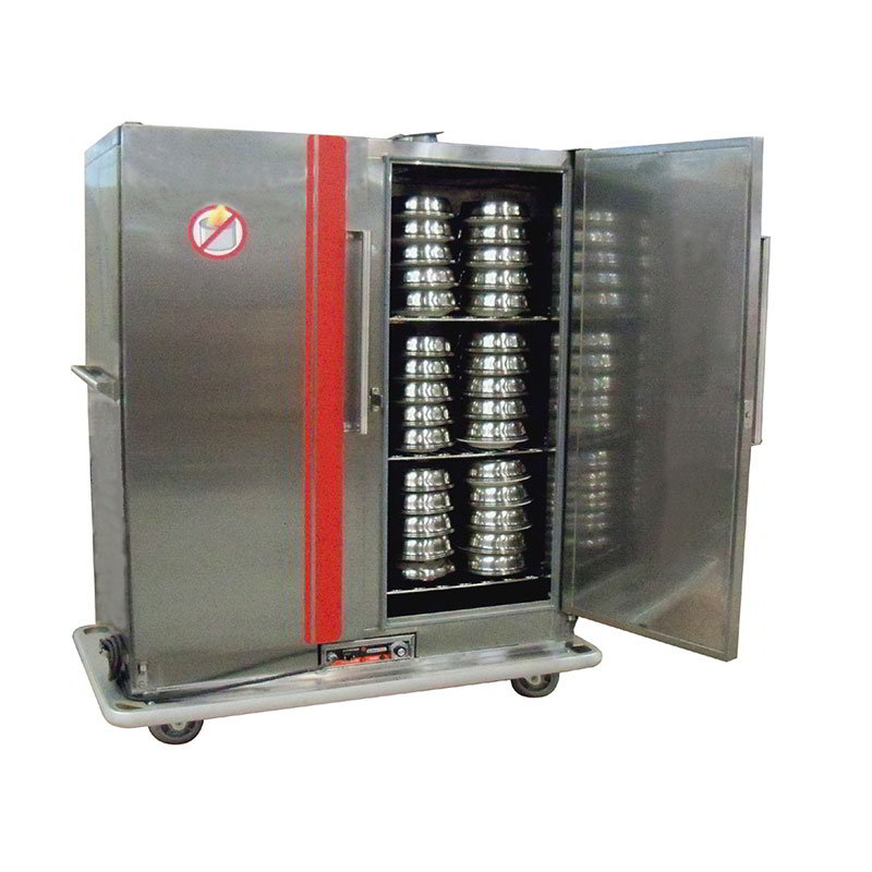 Carter-Hoffmann BR96 Heated Banquet Cabinet w/ Heat Retention, 96-Plate Capacity