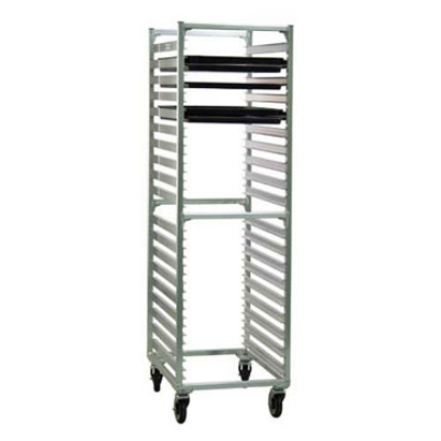Carter-hoffmann O1838C 55-in End Load Pan Rack w/ Open Sides, 8-Tray Capacity