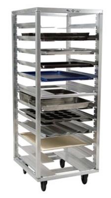 Carter-hoffmann O8631V 64.25-in End Load Pan Rack w/ Adjustable Slides, 24-Tray Capacity