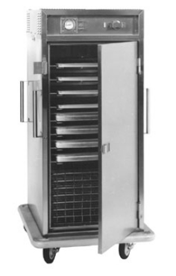 Carter-Hoffmann ST1820 Full-Height Heated Transport Cart w/ Removable Slides, 12-Trays