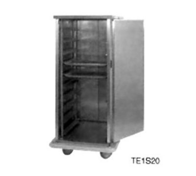 Carter-hoffmann PSDTT20 Patient Tray Cart - (2) Trays per Slide, 1-Door, (20) Tray Capacity