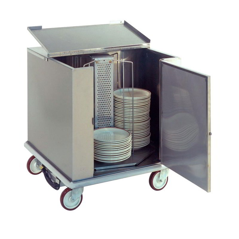 "Carter-Hoffmann CD252 Unheated Enclosed Dish Cart, Dish Dividers for 252 11"" Plates"