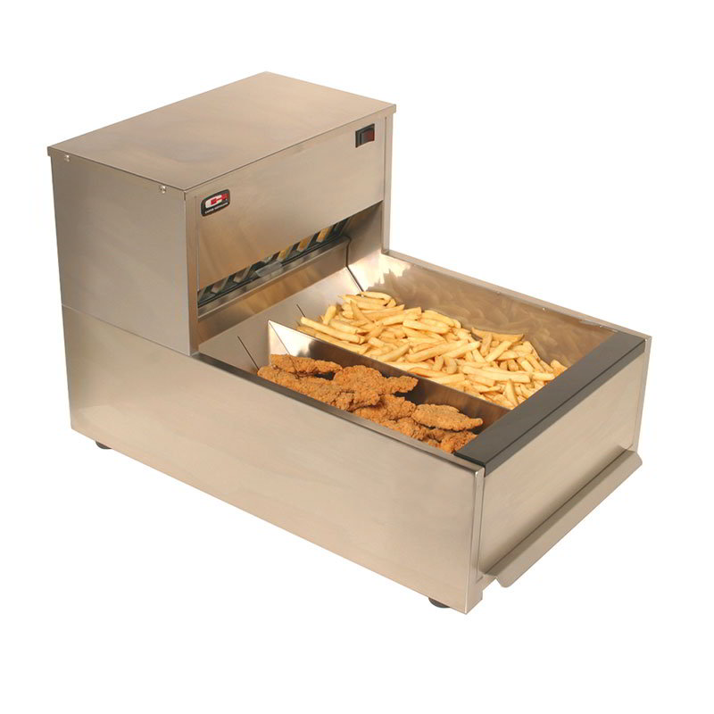 Carter-Hoffmann CNH18 Crisp-N-Hold Fried Food Station, 3 Sections, 120 V