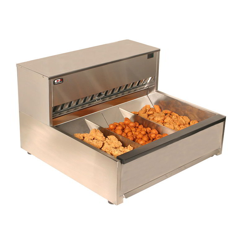Carter-Hoffmann CNH28 Crisp-N-Hold Fried Food Station, 4 Sections, 120 V