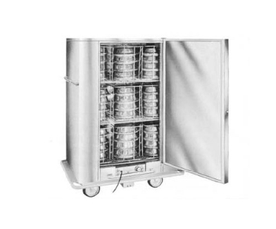 Carter-hoffmann BB60 Heated Banquet Cabinet w/ 72-Plate Capacity, Stainless