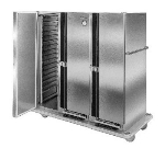 Carter-hoffmann PH1250 Mobile Heated Cabinet w/ Removable Slides, 50-Pans, 3-Doors