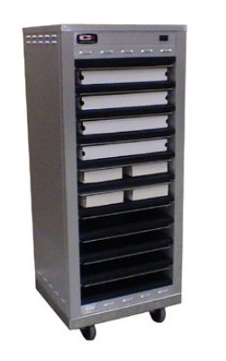 Carter-hoffmann DF1818-10 Full Size Doorless Holding Cabinet, Holds (10) 18 x 18 in Pizza Boxes