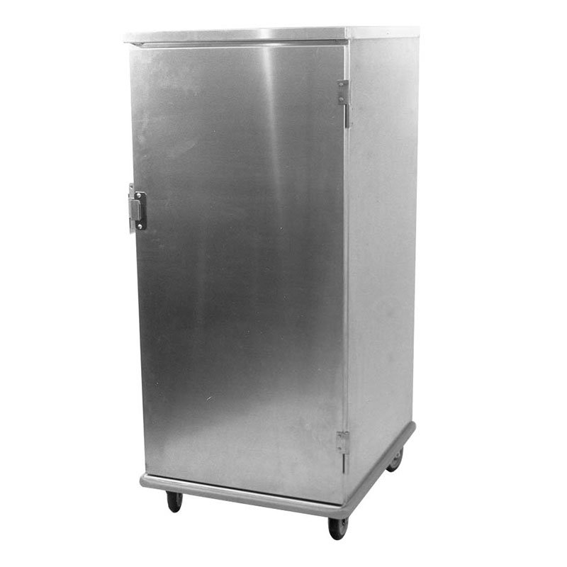 Carter-Hoffmann E8610V Enclosed Cabinet w/ Hinged Doors, Universal Slides, 20-Pans