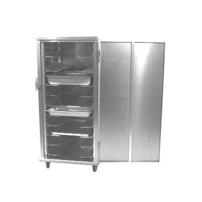 Carter-Hoffmann E8612V Enclosed Cabinet w/ Hinged Doors, Universal Slides, 24-Pans