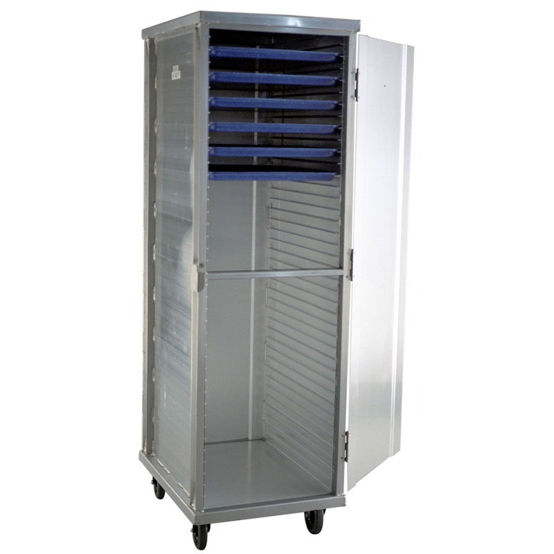 Carter-Hoffmann E8639H Heated Enclosed Cabinet w/ Extruded Side Panels, 34-Tray Capacity