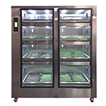 Carter-Hoffmann GC42 GardenChef Full-Height Herb & Microgreen Growing Cabinet - Holds (16) Growing Flats, 120v