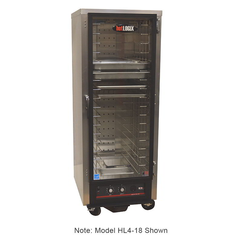 "Carter-Hoffmann HL4-14 Humidified Holding Proofer Cabinet - 3/4-Height, (14) 18x26"" Pan Capacity"