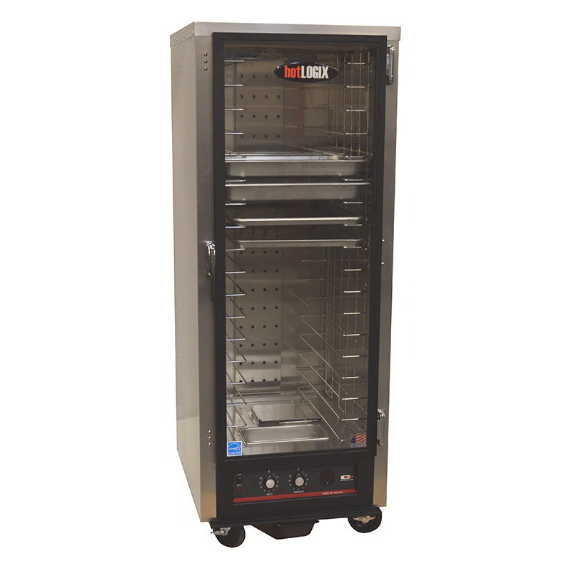 "Carter-Hoffmann HL4-18 Humidified Holding Proofer Cabinet - Holds (18) 18x26"" Pans, Aluminum"