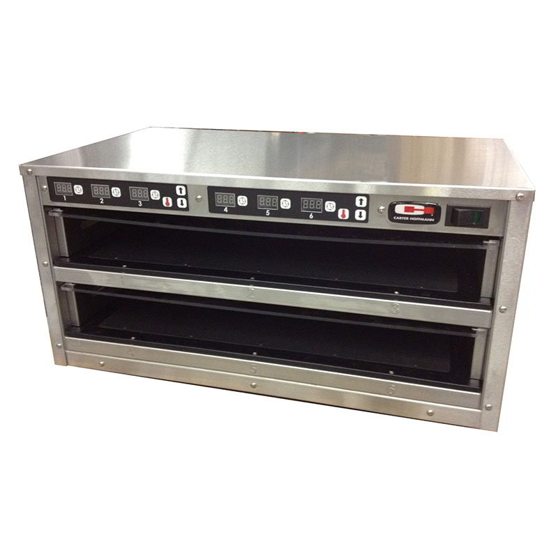 Carter-Hoffmann MC212S-2T Countertop Holding Cabinet - Stainless, 120v