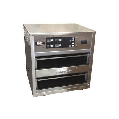 Carter-Hoffmann MC223GS-2T Countertop Holding Cabinet - 2-Pan Capacity, 120v