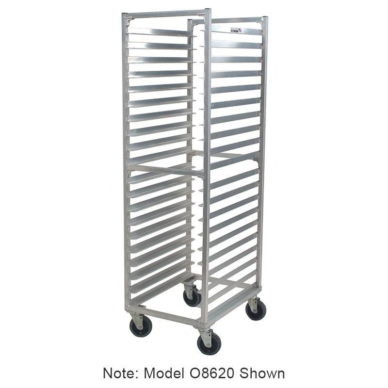 "Carter-Hoffmann O8618W 64-3/16"" Side Load Pan Rack w/ Open Sides, 18-Tray Capacity"