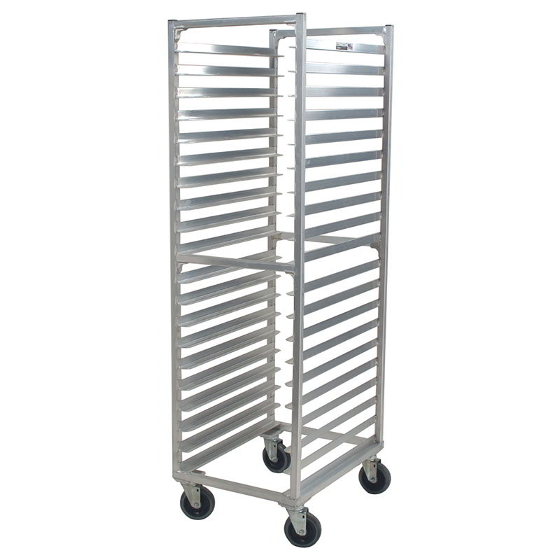 Carter-Hoffmann O8620 69-5/16-in End Load Pan Rack w/ Open Sides, 20-Tray Capacity