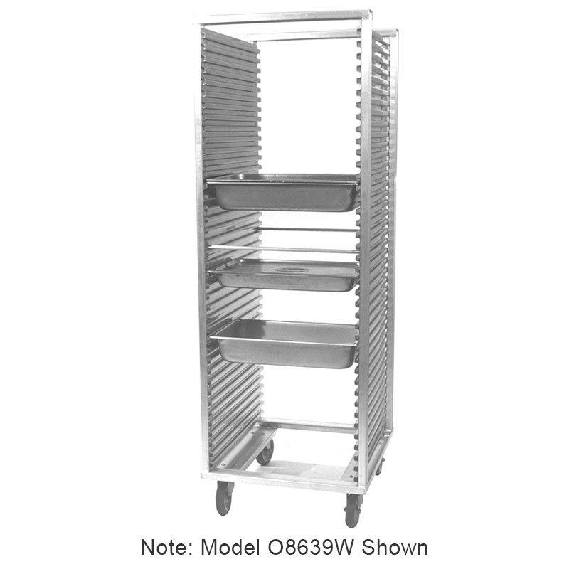 """Carter-Hoffmann O8631V 64.25"""" End Load Pan Rack w/ Adjustable Slides, 24-Tray Capacity"""