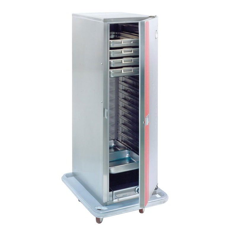 Carter-Hoffmann PH1200 3/4-Height Mobile Heated Cabinet w/ (16) Pan Capacity, 120v