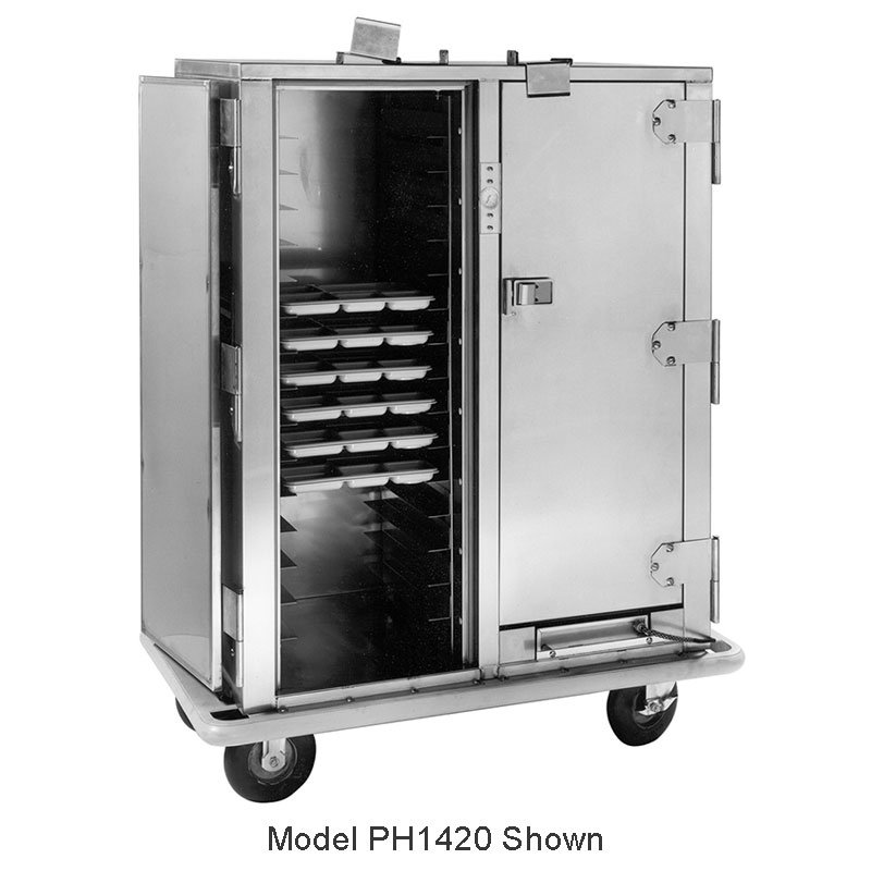 Carter-Hoffmann PH1430 Heated Cabinet w/ HD Correctional Features, 90-Trays, 3-Doors
