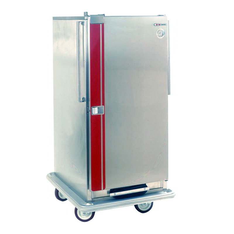 Carter-Hoffmann PH1810 Mobile Heated Cabinet w/ Adjustable Slides, 24-Pans, 5-in Casters