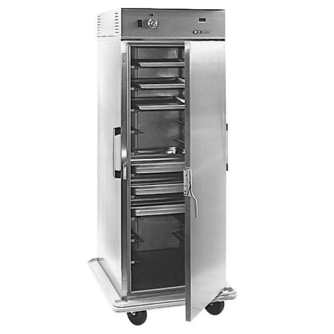 "Carter-Hoffmann PH1835 Mobile Heated Cabinet w/ Adjustable Slides, 24-Pans, 6"" Casters"