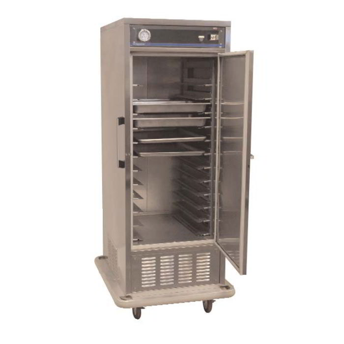 Carter-Hoffmann PHF825 Mobile Freezer Cabinet w/ Adjustable Slides, Insulated, 18-Pans