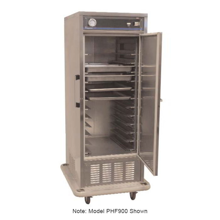 Carter-Hoffmann PHF900 Mobile Freezer Cabinet w/ Fixed Slides, 30-Pan Capacity
