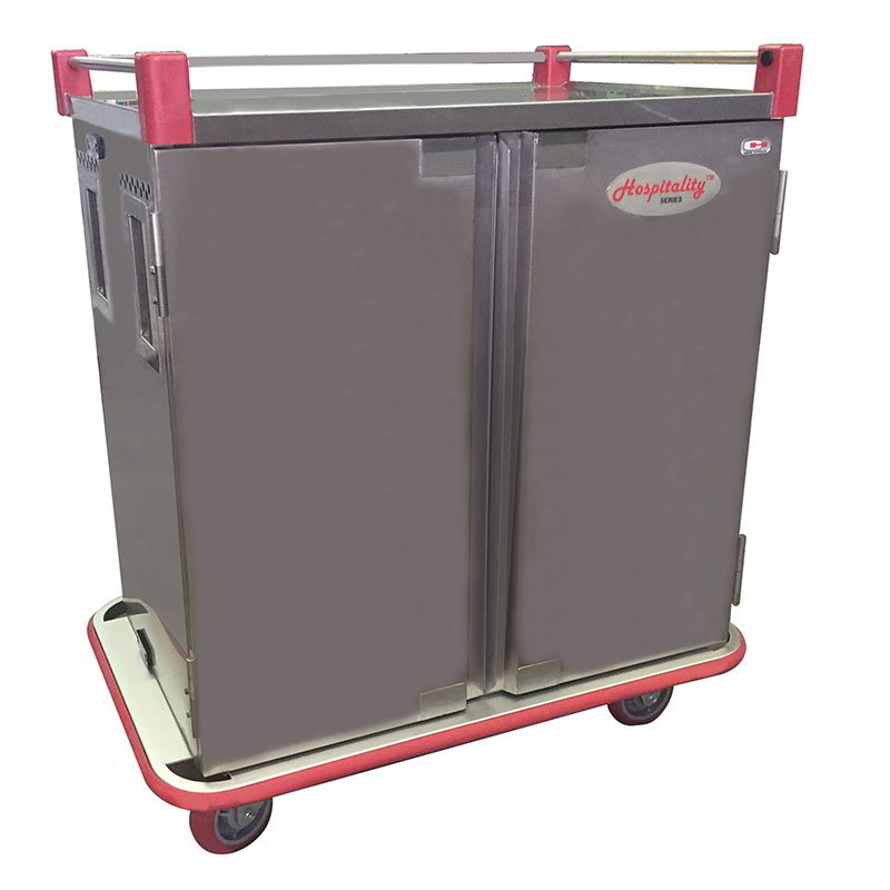 Carter-Hoffmann PTDST12 Patient Tray Cart - (1) Tray per Slide, 1-Door, (12) Tray Capacity