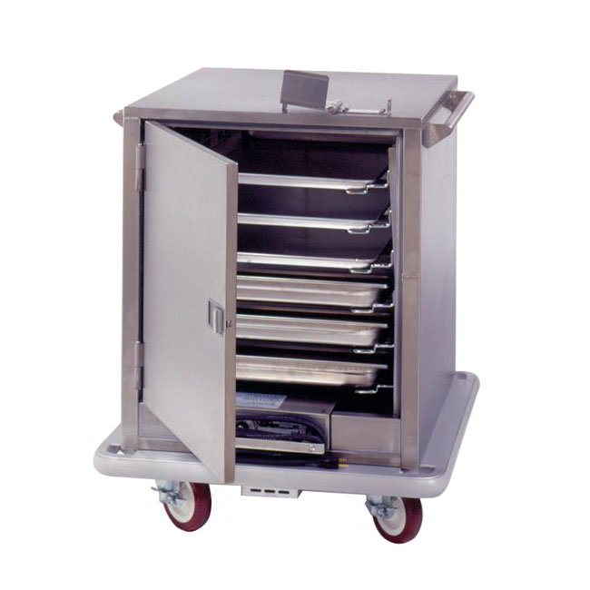 Carter-Hoffmann ST181 6-Tray Heated Meal Delivery Cart, 120v