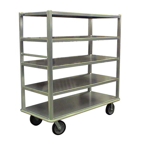 "Carter-Hoffmann T545 60.25"" Queen Mary Cart w/ 5 Levels, 3000-lb Capacity"