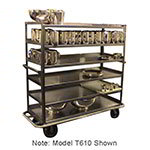 "Carter-Hoffmann T660 74"" Queen Mary Cart w/ 6 Levels, 1200-lb Capacity"