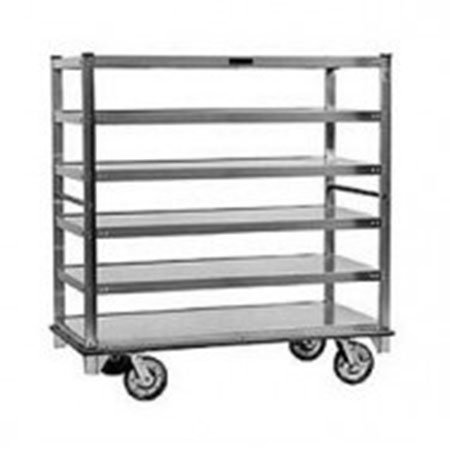 "Carter-Hoffmann T726 78.25"" Queen Mary Cart w/ 6 Levels, 2500-lb Capacity"