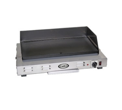 Cadco CG-20 24.5-in Griddle w/ Non-Stick Cooking Surface, Even Heat, 220 V