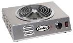 Cadco CSR-3T Hot Plate w/ Single Burner & Infinite Controls, 1500W