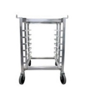 Cadco OST-34A Mobile Oven Stand For Half Size OV Series Ovens, Open base