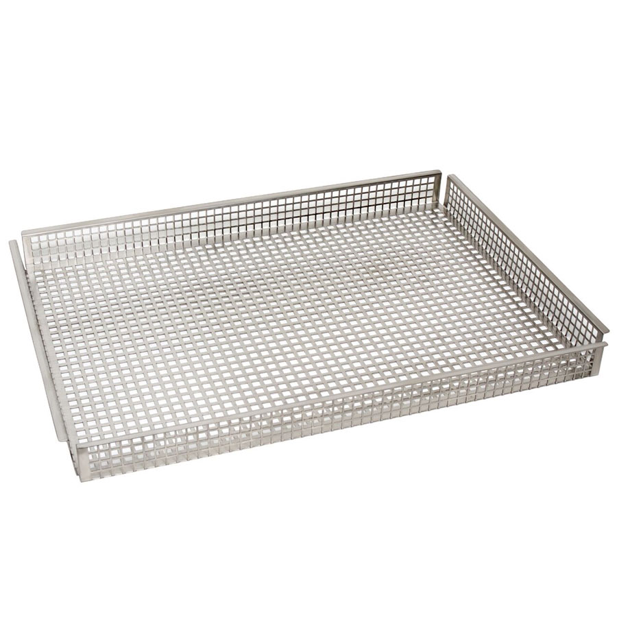 Cadco COB-H Oven Basket, Half Size, Stainless Steel